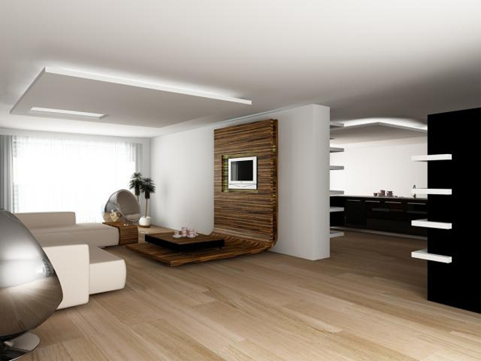 Гостиная хай тек стили интерьера
