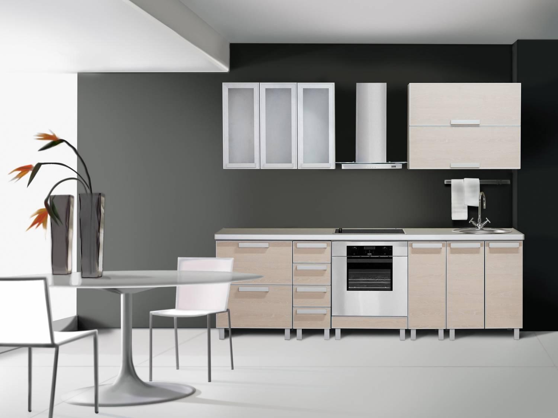Кухня хай тек стили интерьера homestyle